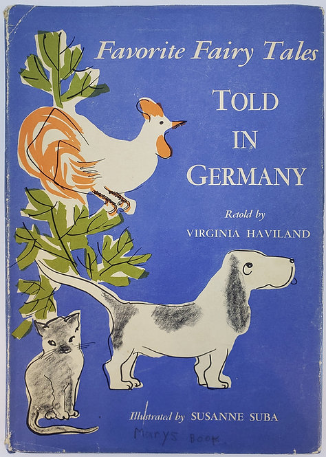 FAVORITE FAIRY TALES TOLD IN GERMANY by Virginia Haviland