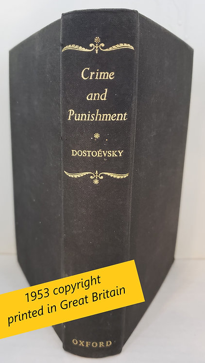Crime & Punishment by F. M. Dostoevsky