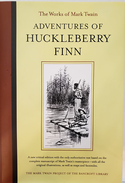 Adventures of Huckleberry Finn by Mark Twain
