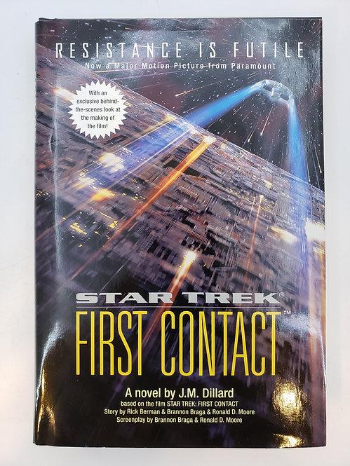 Star Trek First Contact by J.M. Dillard