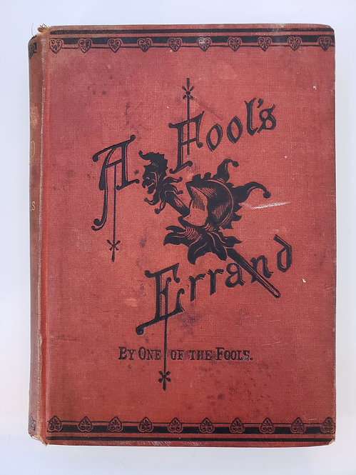 A Fool's Errand by One of the Fools, Albion Winegar Torugee