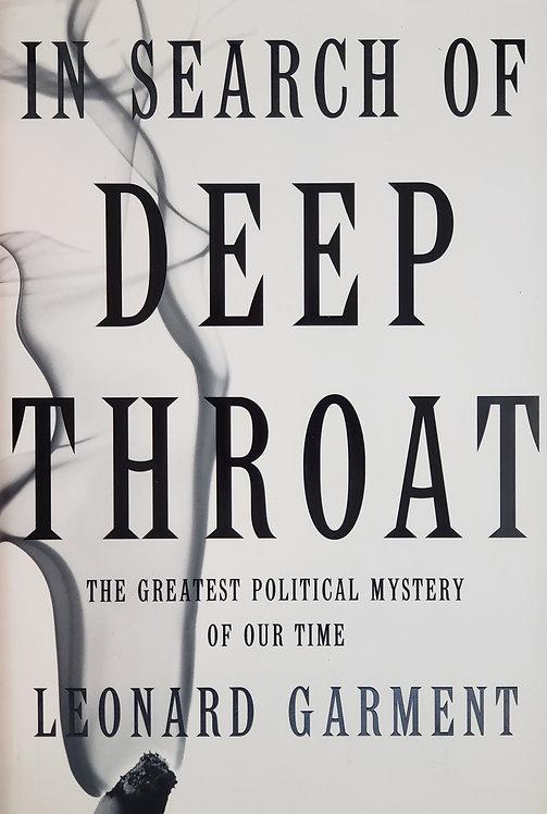 In Search of Deep Throat by Leonard Garment