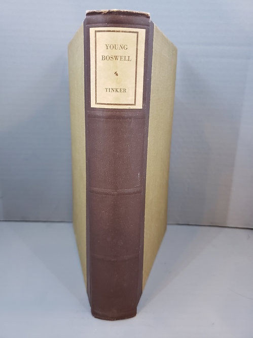 Young Boswell by Chauncey Brewster Tinker