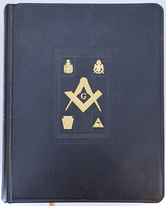 """HOLY BIBLE, MASONIC EDITION, """"Translated Out of THE ORIGINAL TONGUES"""""""