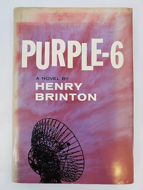 Purple-6 by Henry Brinton