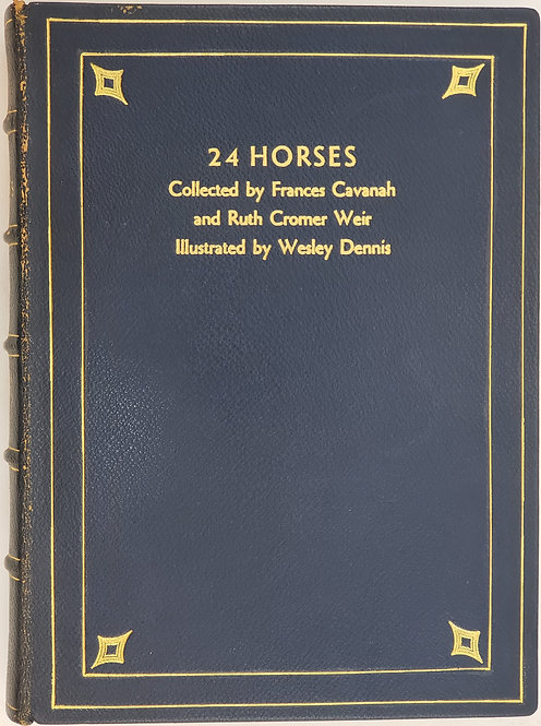 24 HORSES Collected by Frances Cavanah