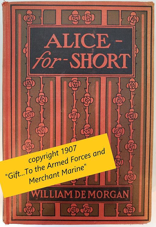 Alice-for-Short by William De Morgan
