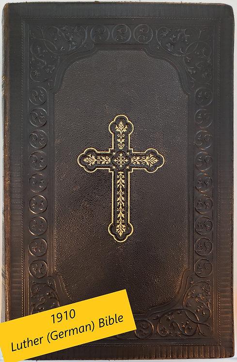 DIE BIBEL (D. Martin Luthers Bible in German)
