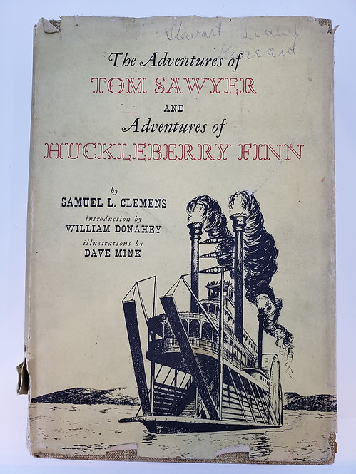 The Adventures of Tom Sawyer & Adventures of Huckleberry Finn Samuel L. Clemens