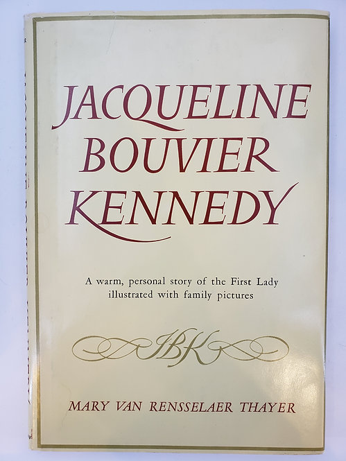 Jacqueline Bouvier Kennedy by Mary Van Rensselaer Thayer