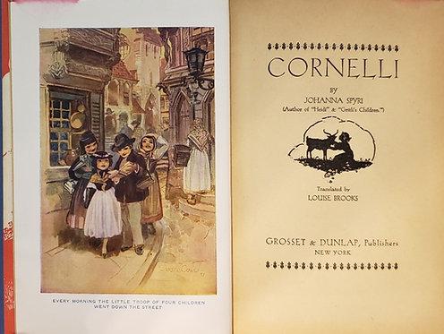 CORNELLI, by Johanna Spyri