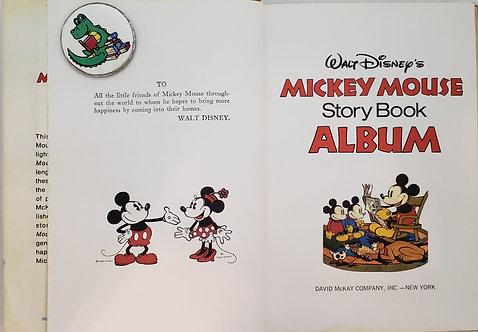 Walt Disney's Mickey Mouse Story Book Album