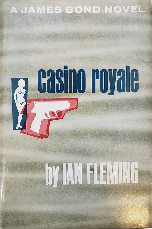 casino royale, a James Bond novel by Ian Fleming