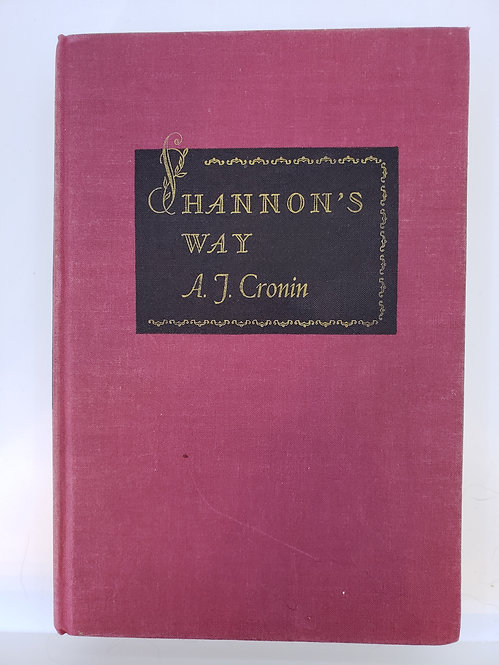 Shannon's Way by A.J. Cronin