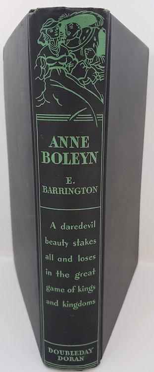 ANNE BOLEYN Boleyn by E. Barrington