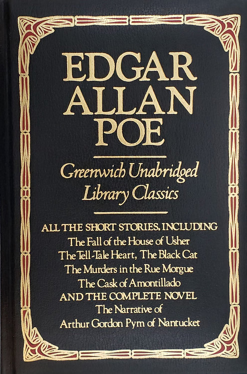 EDGAR ALLAN POE, Greenwich Unabridged Library Classics