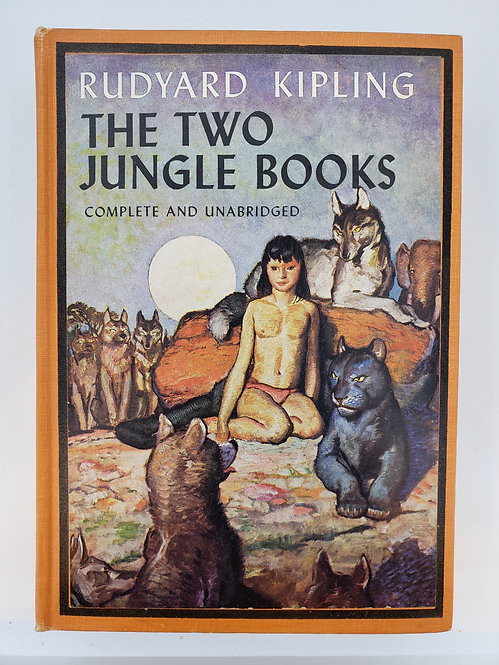 The Two Jungle Books by Rudyard Kipling