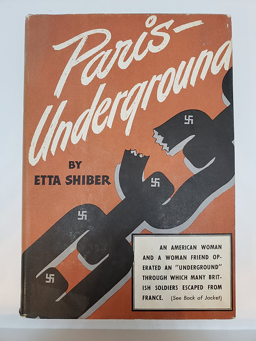 Paris Underground by Etta Shiber