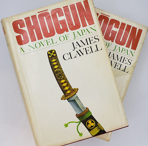 Shogun, A novel of Japan, 2-Volume Set by James Clavell