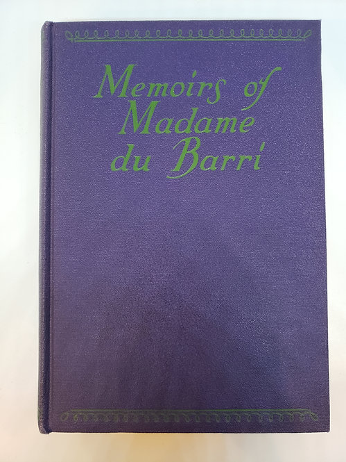 Memoirs of Madame du Barri