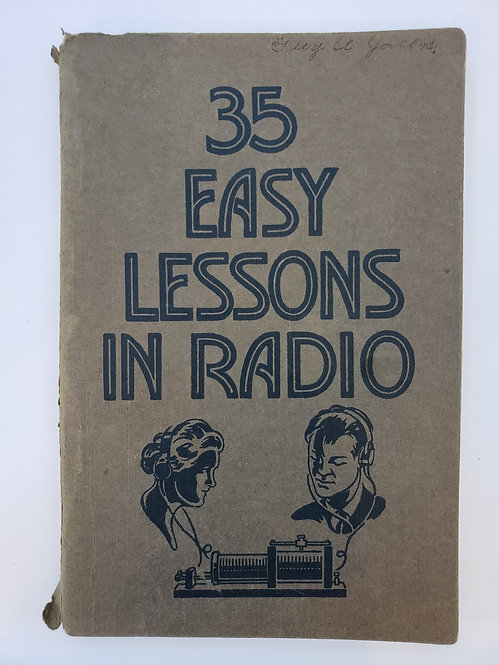 35 Easy Lessons In Radio by C.R. Smith