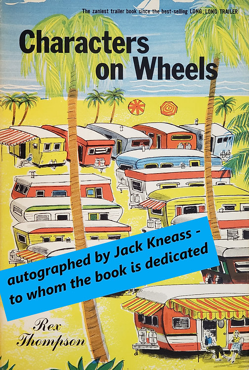Characters on Wheels by Rex Thompson