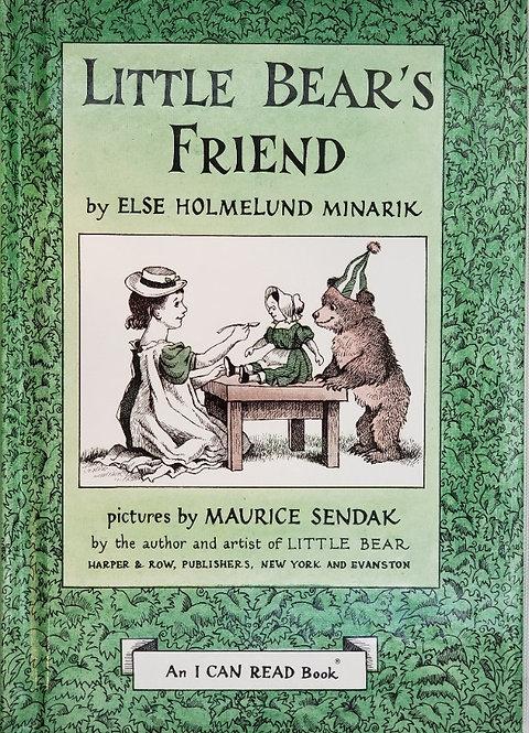 LITTLE BEAR'S FRIEND by Else Holmelund Minarik