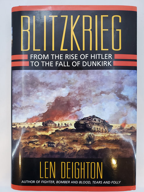 Blitzkrieg, From the Rise of Hitler to the Fall of Dunkirk (w/ Denmark misprint)