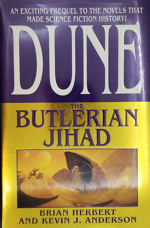 DUNE: THE BUTLERIAN JIHAD by Brian Herbert