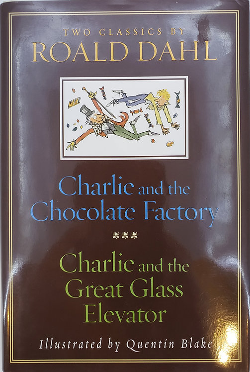 CHARLIE AND THE CHOCOLATE FACORY - CHARLIE AND THE  GREAT GLASS ELEVATOR