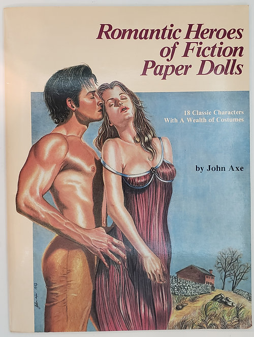 Romantic Heroes of Fiction Paper Dolls by John Axe