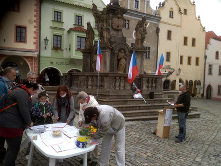 Petiční akce v Českém Krumlově dopadla úspěšně
