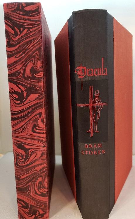 DRACULA by Bram Stoker, illustrated from wood engravings by Felix Hoffmann