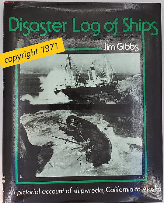 Disaster Log Of Ships by Jim Gibbs