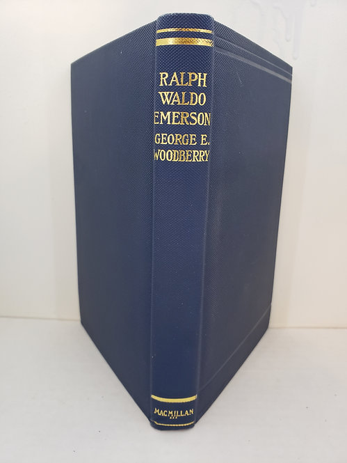 English Men of Letters, Ralph Waldo Emerson by George Edward Woodberry