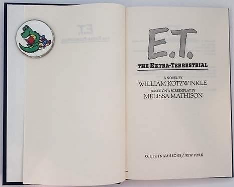 E.T., The Extra-Terrestrial by William Kotzwinkle