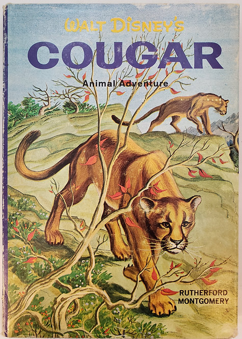 Walt Disney's Cougar by Rutherford Montgomery
