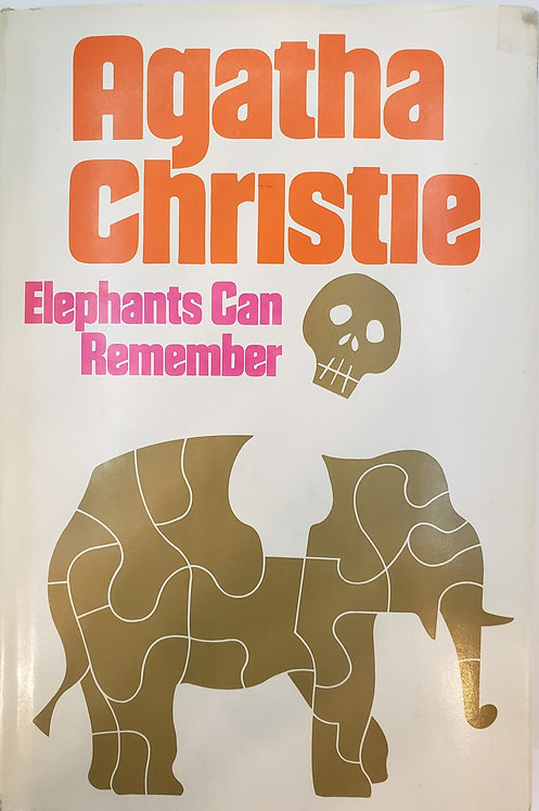 ELEPHANTS CAN REMEMBER: A Hercule Poirot Mystery by Agatha Christie