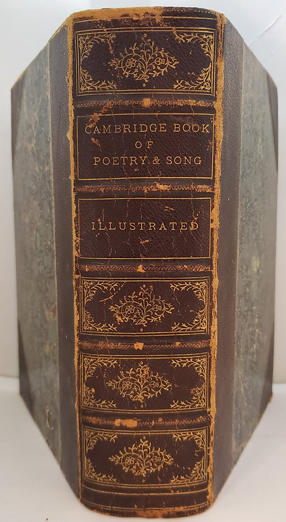 The Cambridge Book of Poetry and Song by Charlotte Fiske Bates