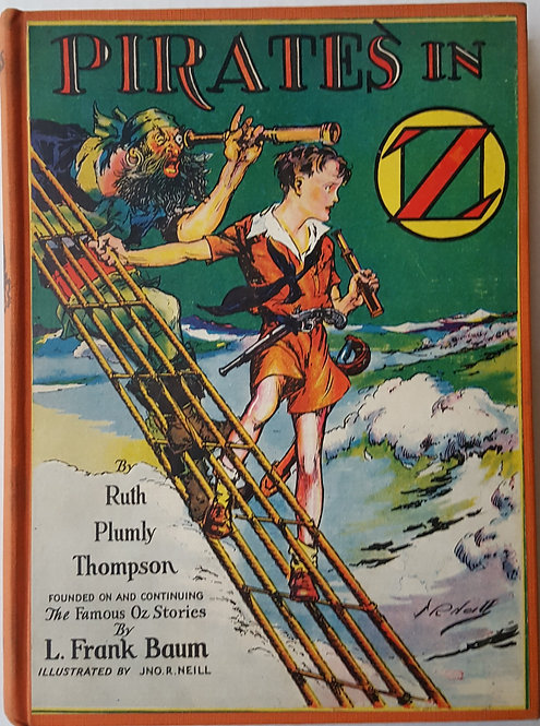 Pirates In Oz by Ruth Plumly Thompson