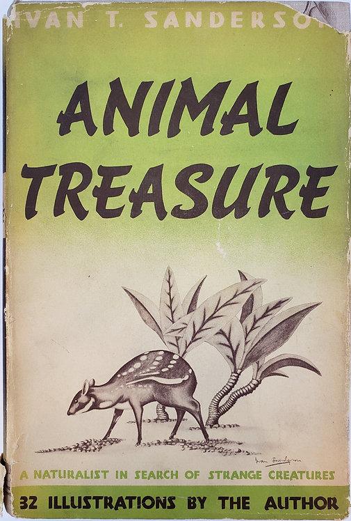 ANIMAL TREASURE by Ivan T. Sanderson