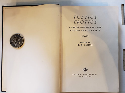 Poetica Erotica by T.R. Smith