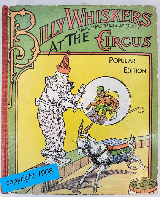 Billy Whiskers At The Circus by F.G. Wheeler