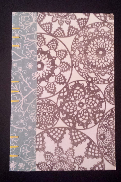 Doilies and Flowers Journal