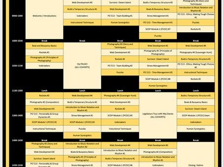 Spring Break CAP schedule - REGISTER TODAY!