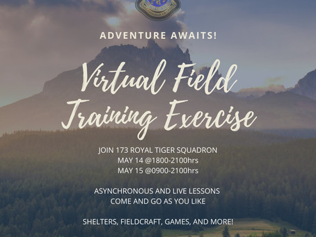 Last Minute Virtual Opportunity!