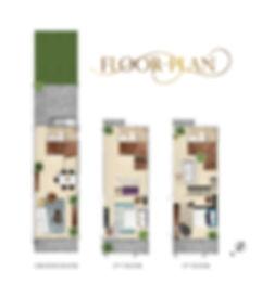 Floor plan สำหรับขาย รวม 3ชั้น แก้ห้องน้