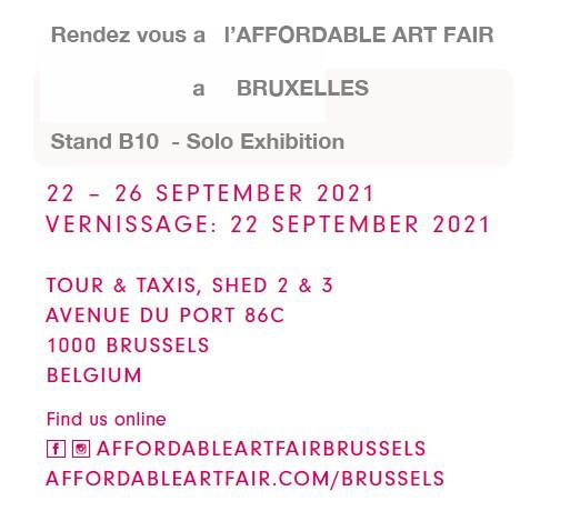 Affordable Art Fair Bruxelles Tour et Taxis