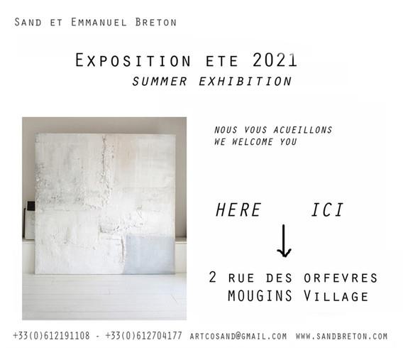 Mougins Exposition Ete 2021