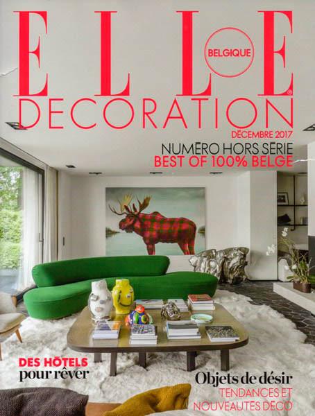 Elle Deco Belgique 12/2017